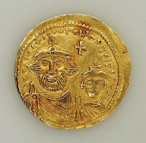 Historische Goldmünze aus Detmold