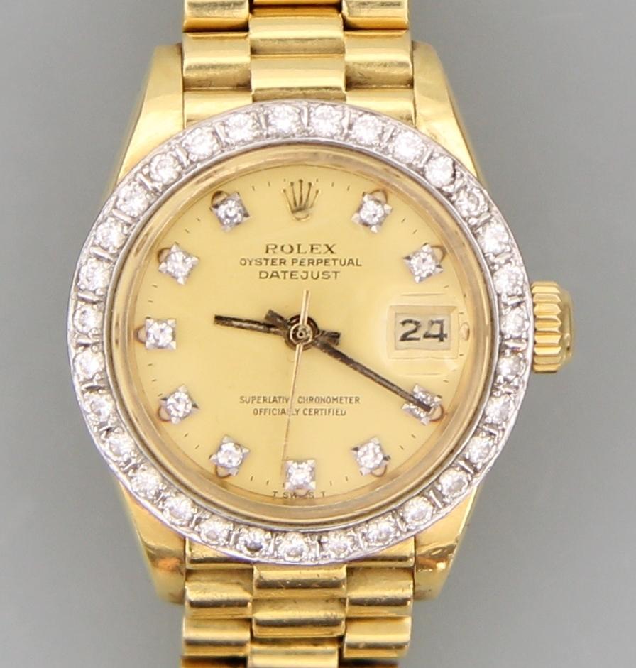 Aktuelle Schmuckauktion Rolex Oster Date
