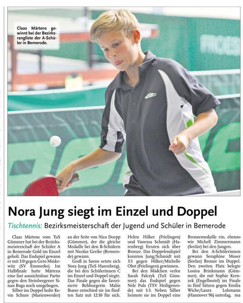 Neue Presse vom 14.11.2012