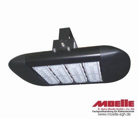 LED Hochregalstrahler, Seitenansicht