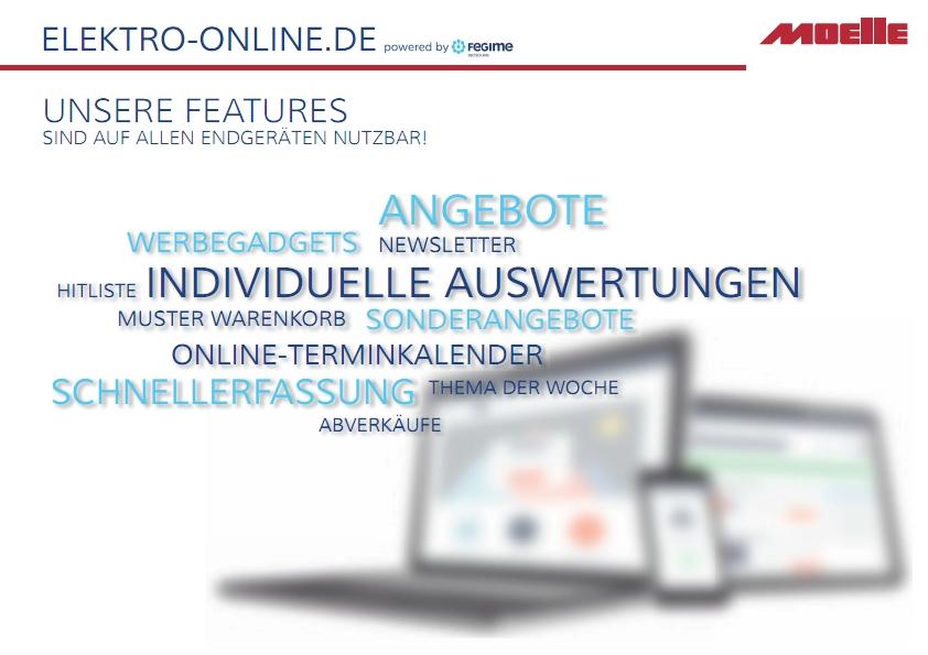 Online Shop Info Elektrogroßhandel Moelle