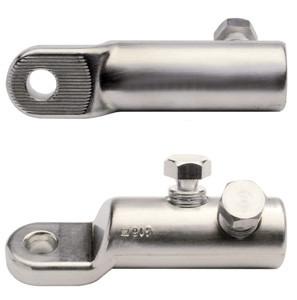 Schraubkabelschuh und Schraubverbinder