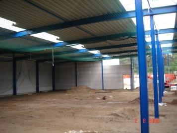 2006  Unsere Lagerkapazität wird um neue Fläche erweitert