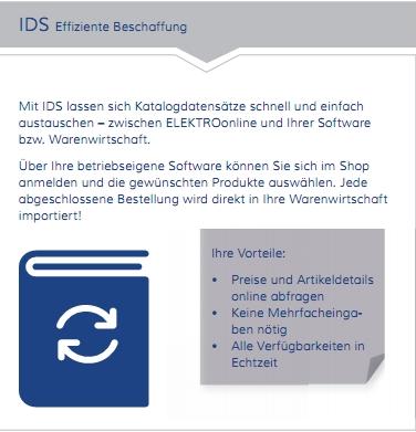 IDS Schnittstelle