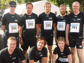 Gruppenfoto Nordhorner Meile 2009