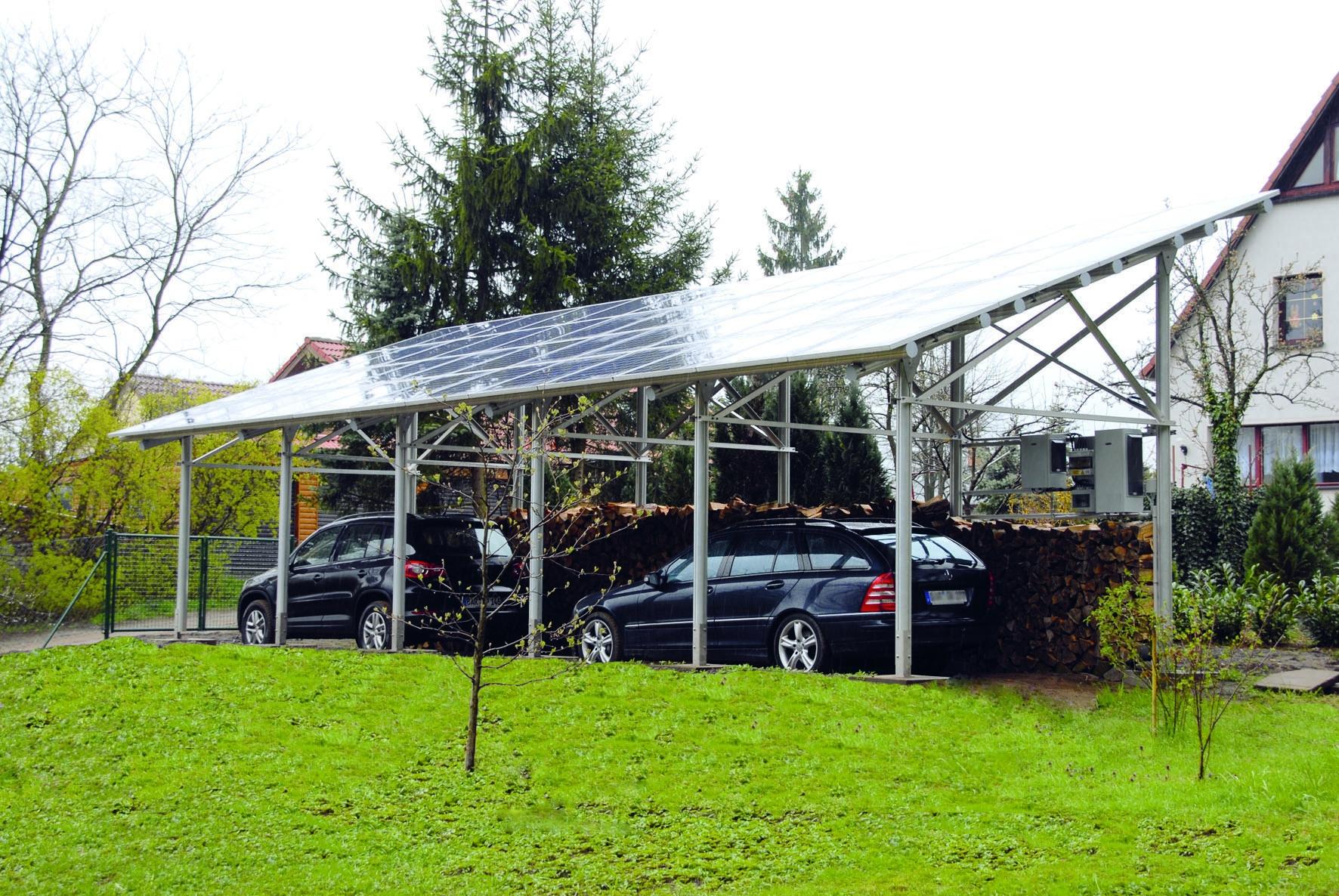 solarcarport garagen systeme elektrogro handel moelle. Black Bedroom Furniture Sets. Home Design Ideas