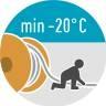 NSSHOEU Verlegetemperatur