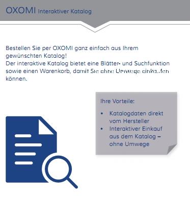 OXOMI interaktiver Katalog