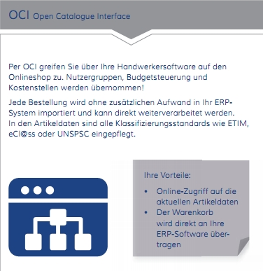OCI Open Catalogue Interface