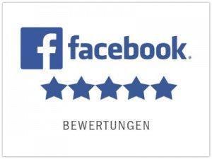 Bewertung bei Facebook abgeben