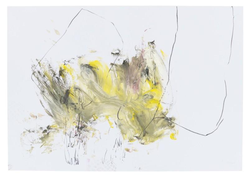 Spitzentanz unter den Linnen 2 | 2015 | 70 x 100 cm