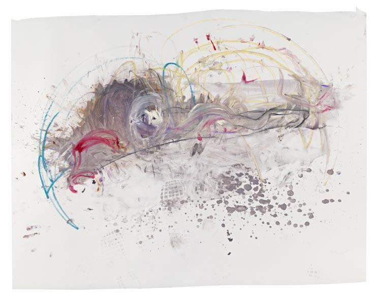 Der Seiltänzer | 2016 | 102/101 x 133 cm