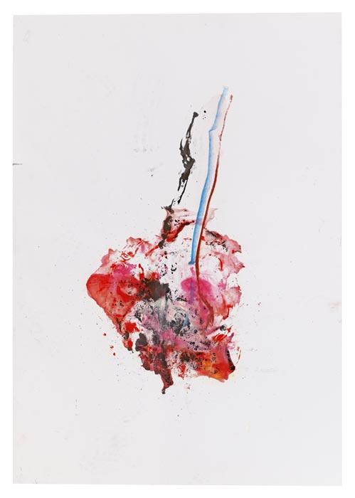 das Herz, habt ihr das Herz gesehen | 2015 | 100 x 70 cm