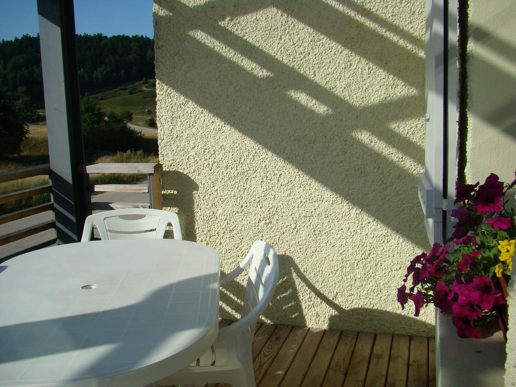 la terrasse du gîte