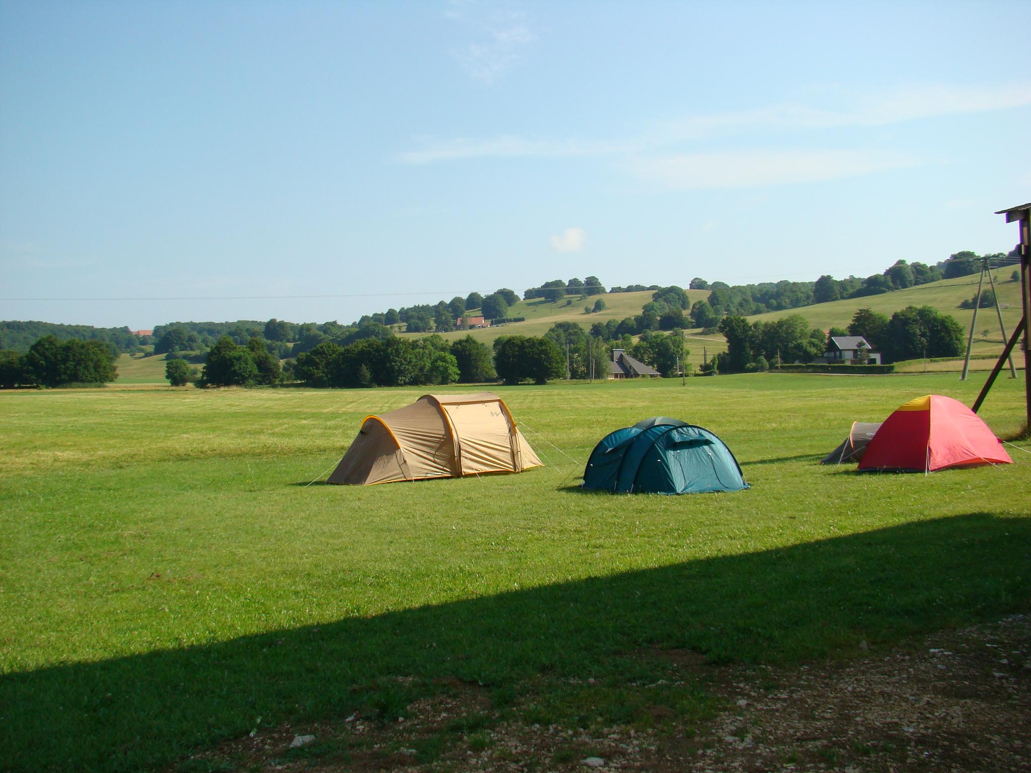 l'aire naturelle de camping