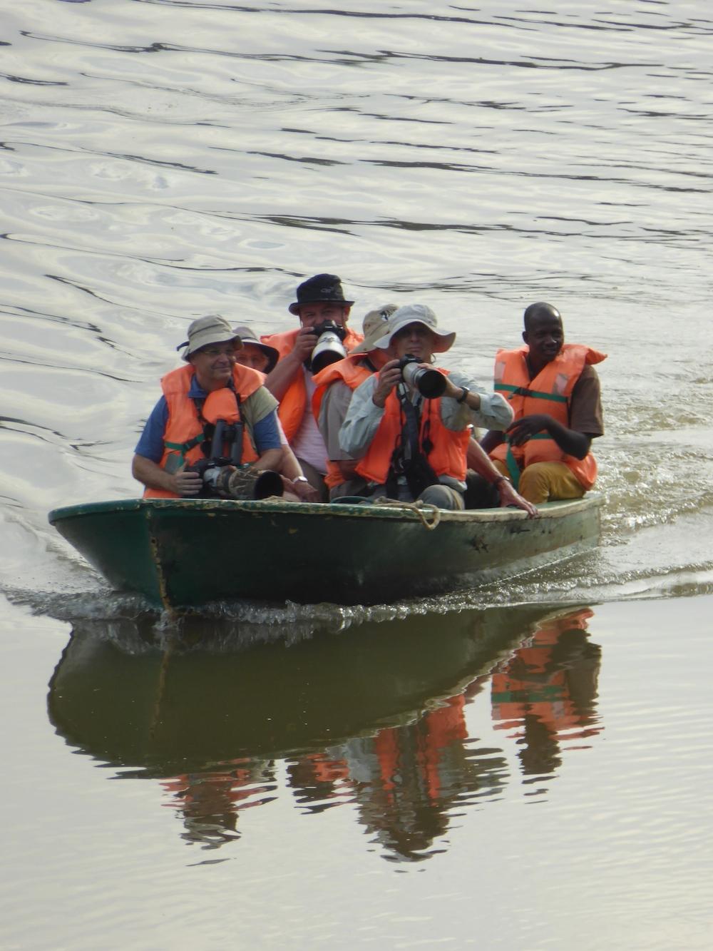 Bootsfahrt auf dem Gambiafluss