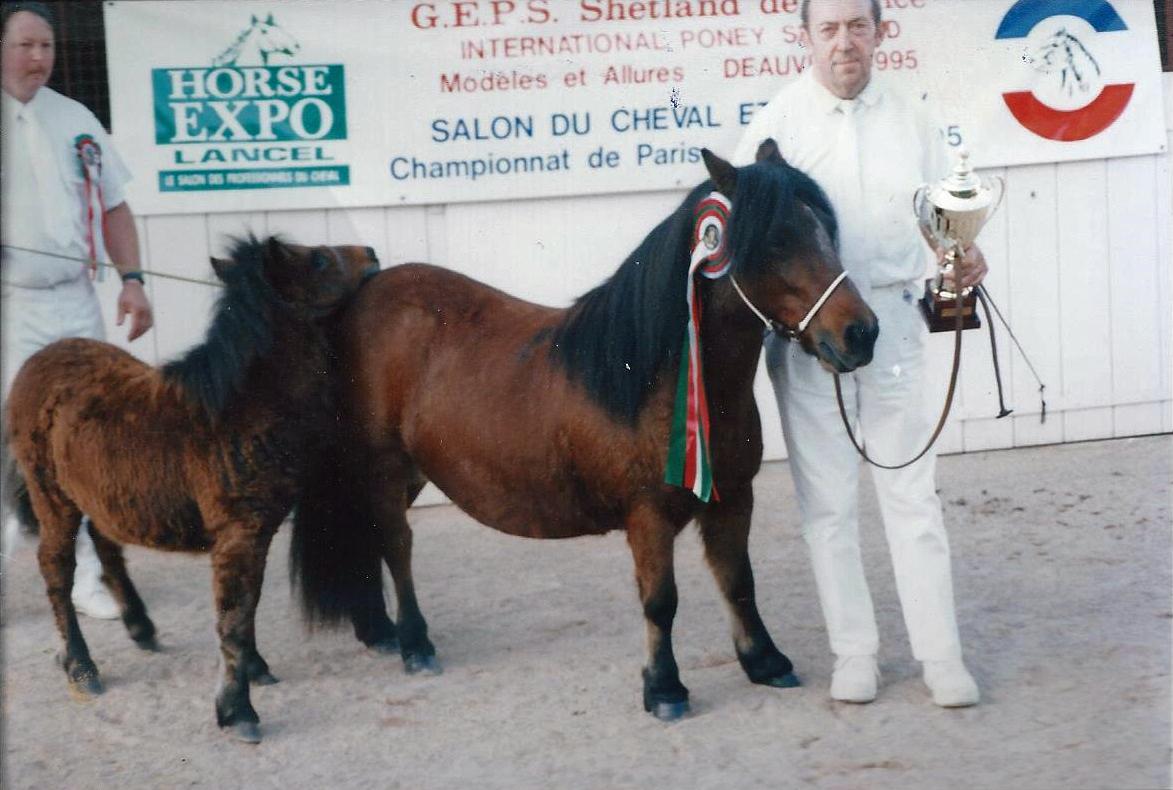 Championne Suprême Standard à l'International de Deauville 14 Octobre 1995