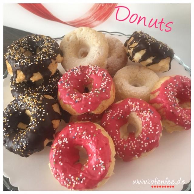Donuts aus der Donut-Backform von Pampered Chef - Backen mit Pampered Chef