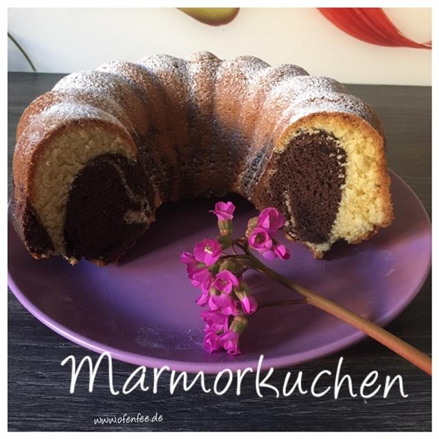 Marmorkuchen aus der Kranzform von Pampered Chef