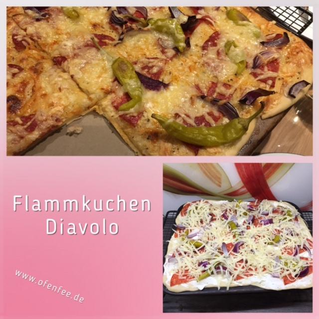 Flammkuchen Diavolo auf dem Zauberstein von Pampered Chef