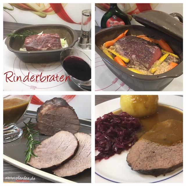 Rinderbraten aus dem Ofenmeister von Pamperd Chef