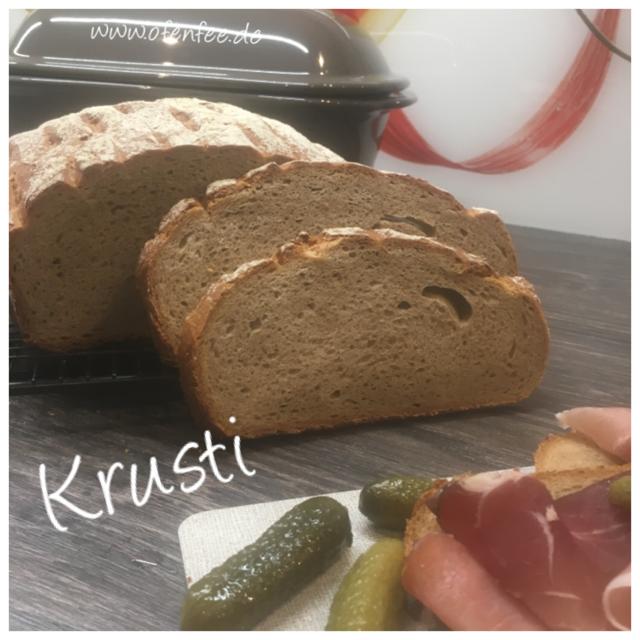 Krusti aus dem Ofenmeister/Zaubermeister von Pampered Chef