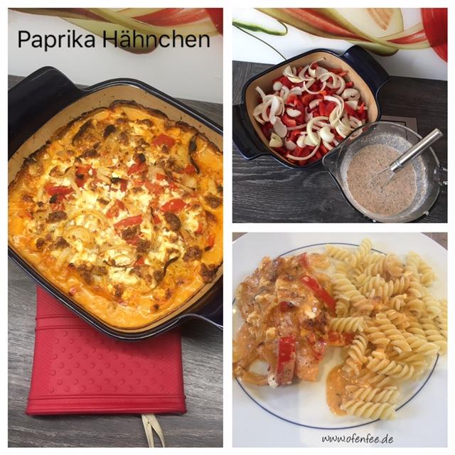 Paprika Hähnchen im Bäker von Pampered Chef