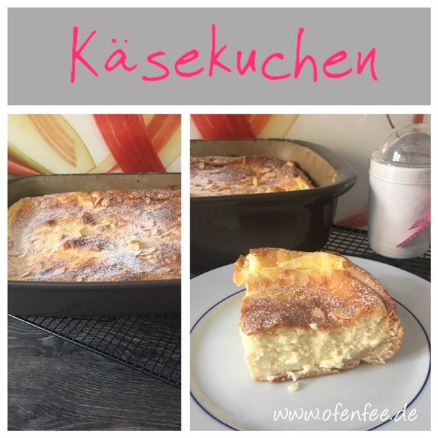 Käsekuchen in der Ofenhexe von Pampered Chef