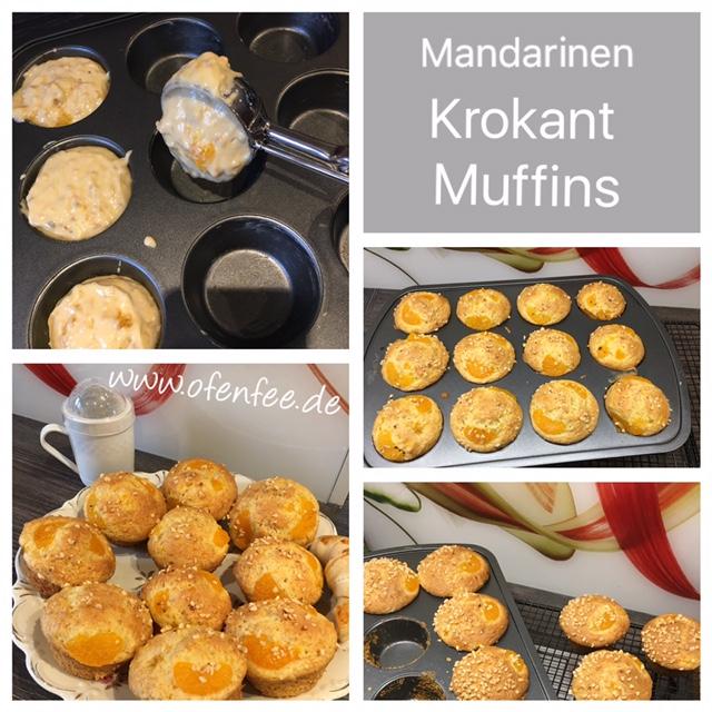 Mandarinen Krokant Muffins aus der Muffin Form Deluxe von Pampered Chef