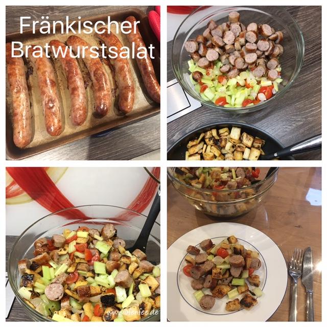 Fränkischer Bratwurstsalat mit Hilfe des Ofenzaubereres von Pampered Chef