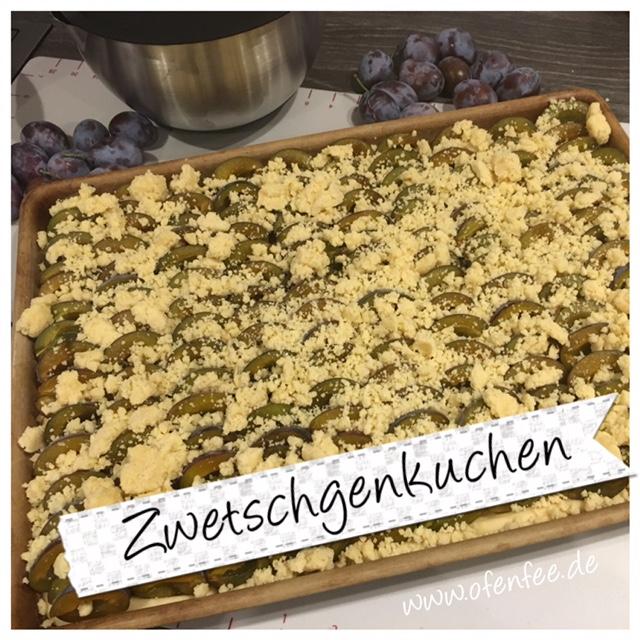Zwetschgenkuchen mit Streusel im Ofenzauberer von Pampered Chef