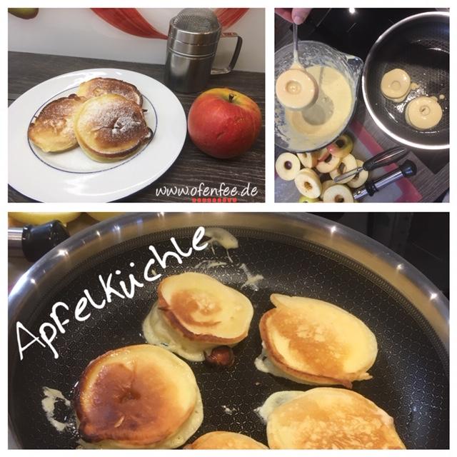 Apfelküchle aus der Edelstahl-Anithaftpfanne von Pampered Chef®