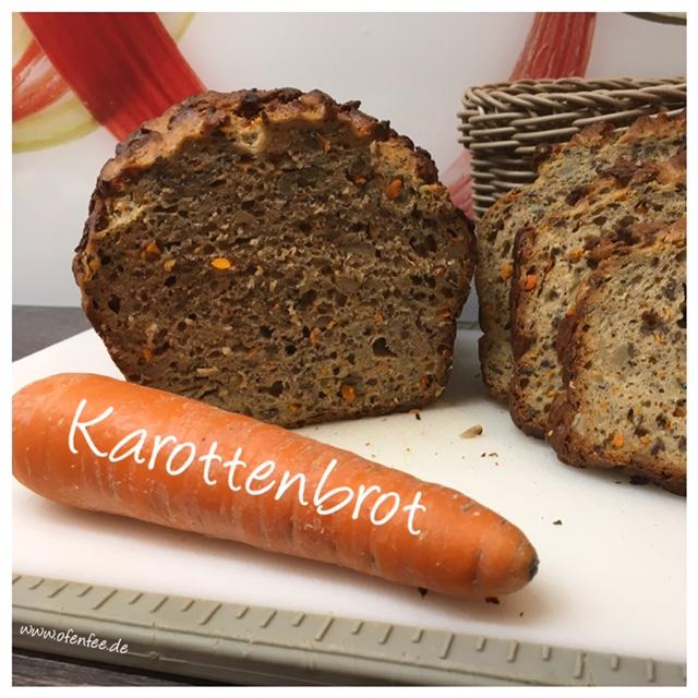Karottenbrot aus dem kleinen Zaubermeister / Ofenmeister / Zauberkasten von Pampered Chef