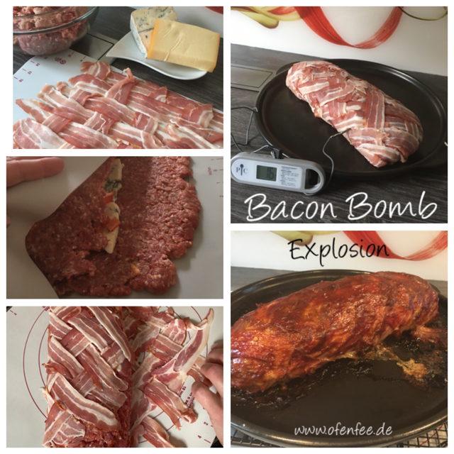 Bacon Bombe Explosion
