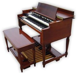 Voorbeeld: een Hammond B3