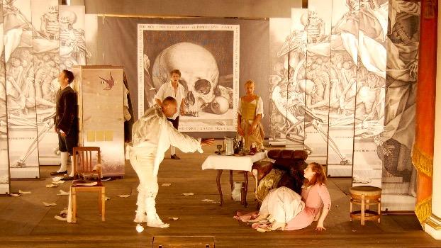 Der eingebildete Kranke - Ensembles  Foto: Valentine Koppenhöfer
