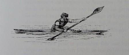 Périssoire, KARR, GATAYES et col  Le canotage en France, éd. Taride, 1858 (rééd. Chasse-Marée, 1991)