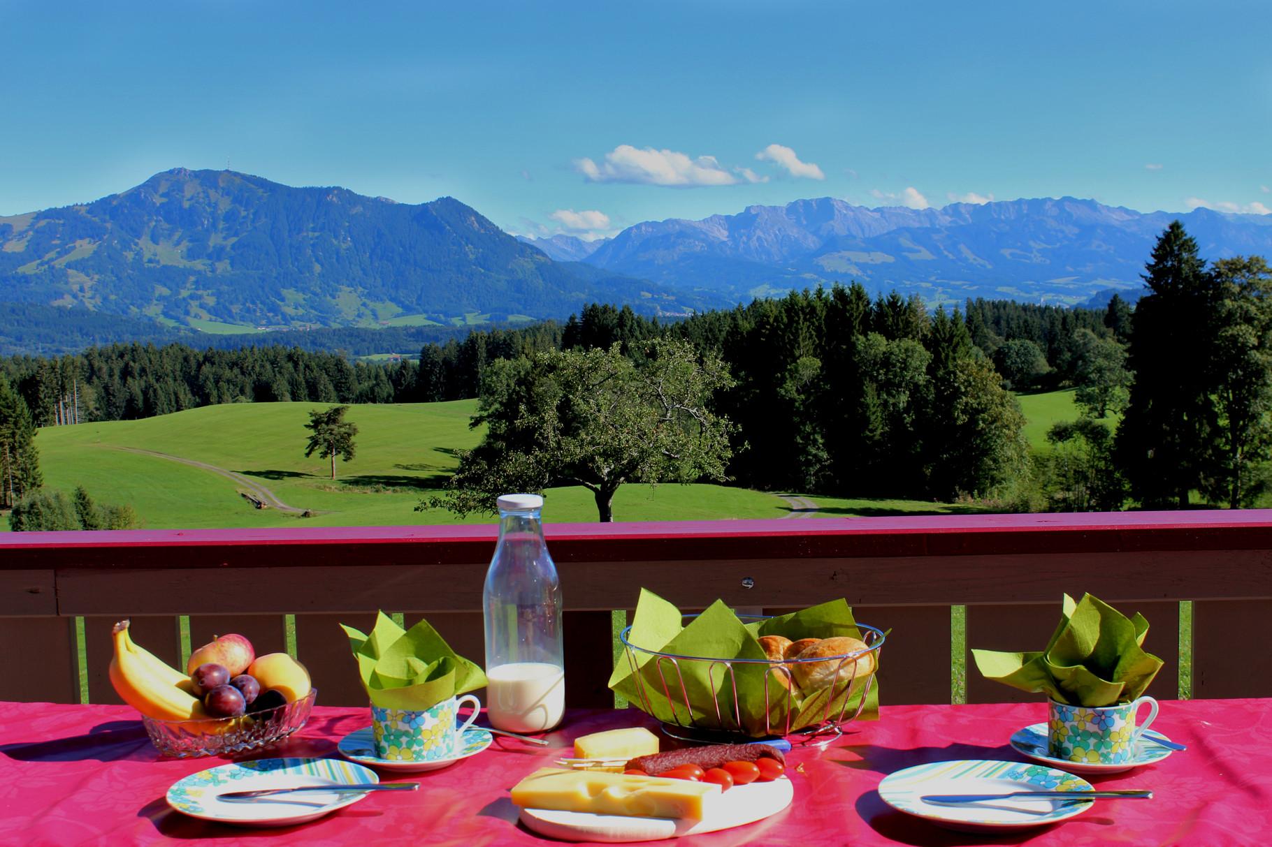 Ihr Frühstücksplatz im Allgäu