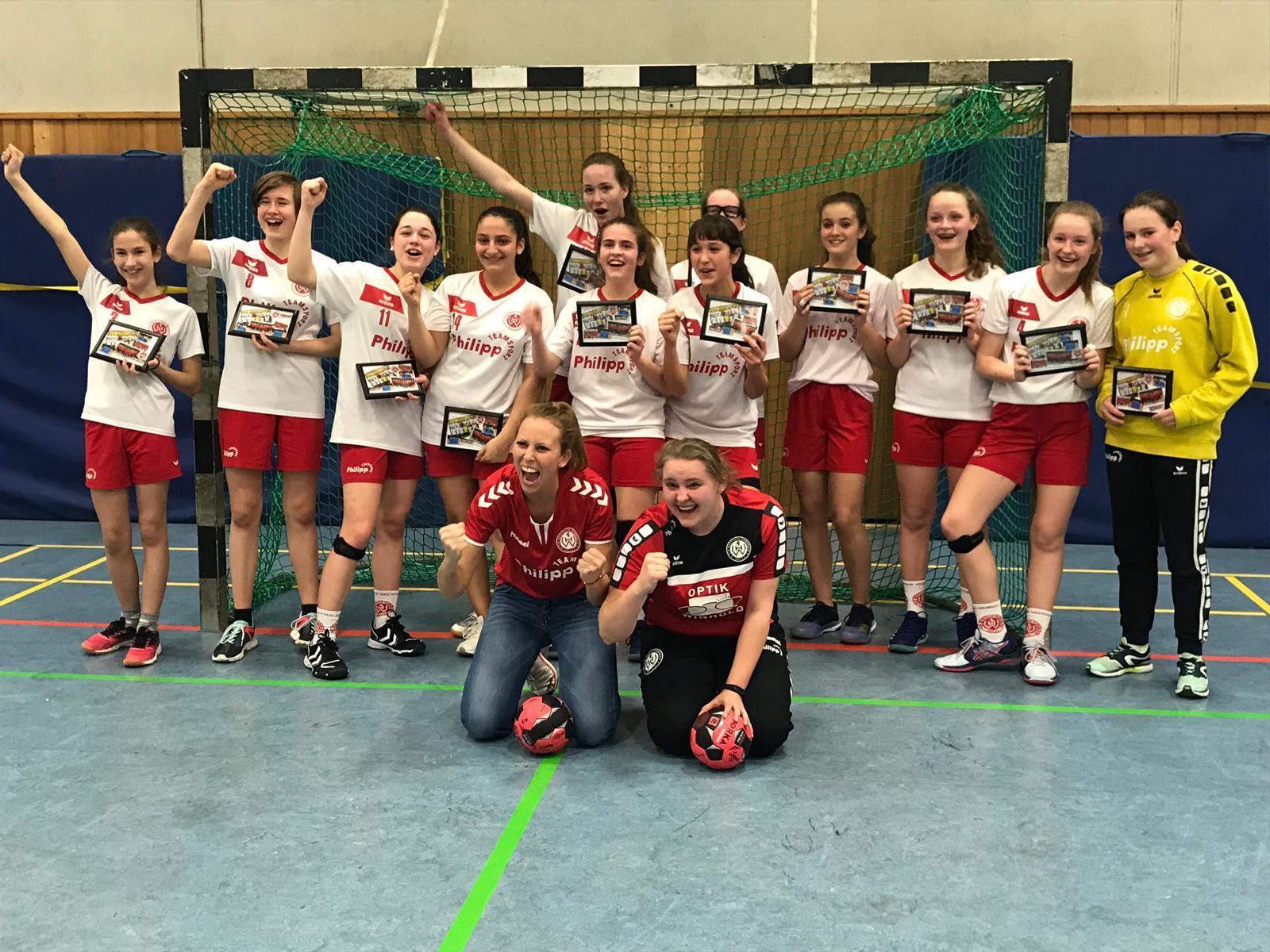 Unsere weiblichen C-Jugend Meisterinnen