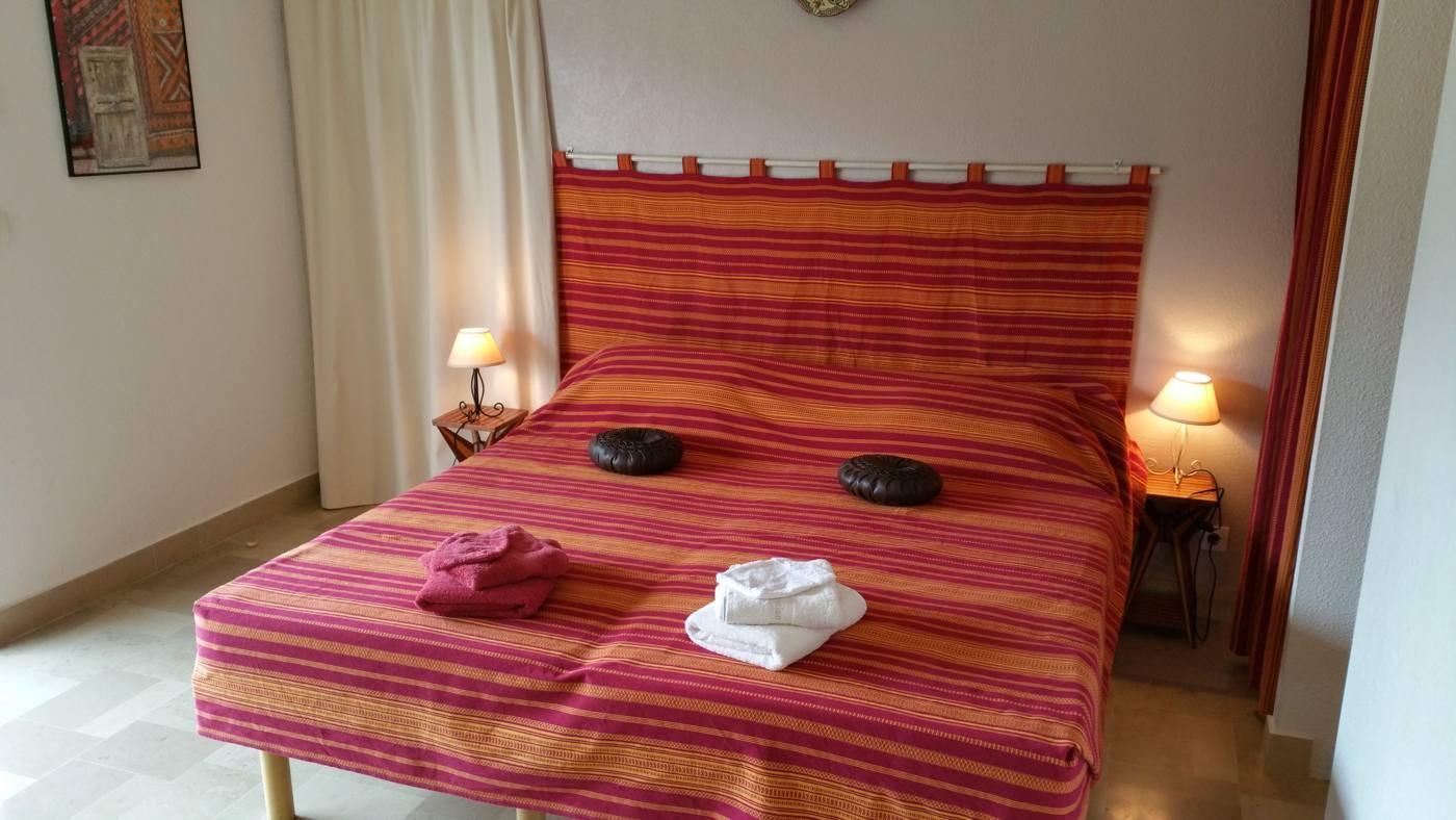 La chambre l'Orry à Sorède proche Espagne
