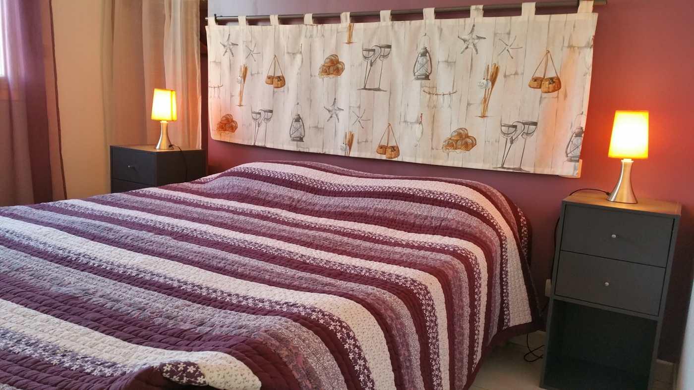 Chambre double hébergement Micocoulier à Sorède proche Espagne