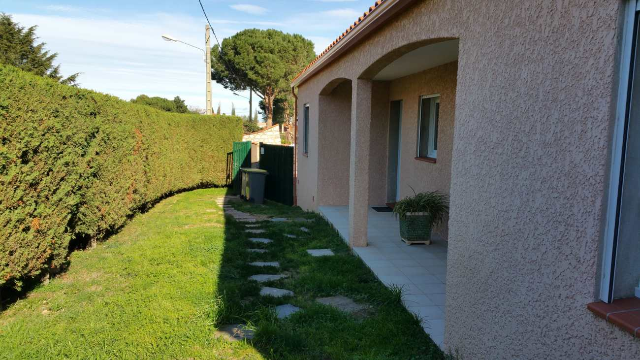 Our two cottages located near Collioure (gîtes Al Pati) near Collioure and Argelès sur mer