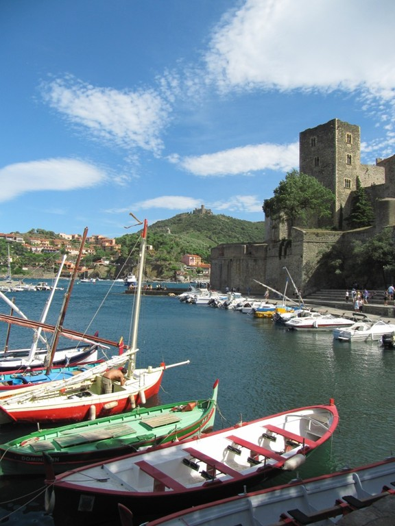 Collioure (14km from Al Pati Bed and Breakfast and gites)