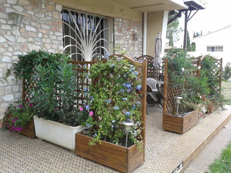 """Vue de la terrasse du gîte Al Pati """"l'Ultrera"""" proche Collioure"""