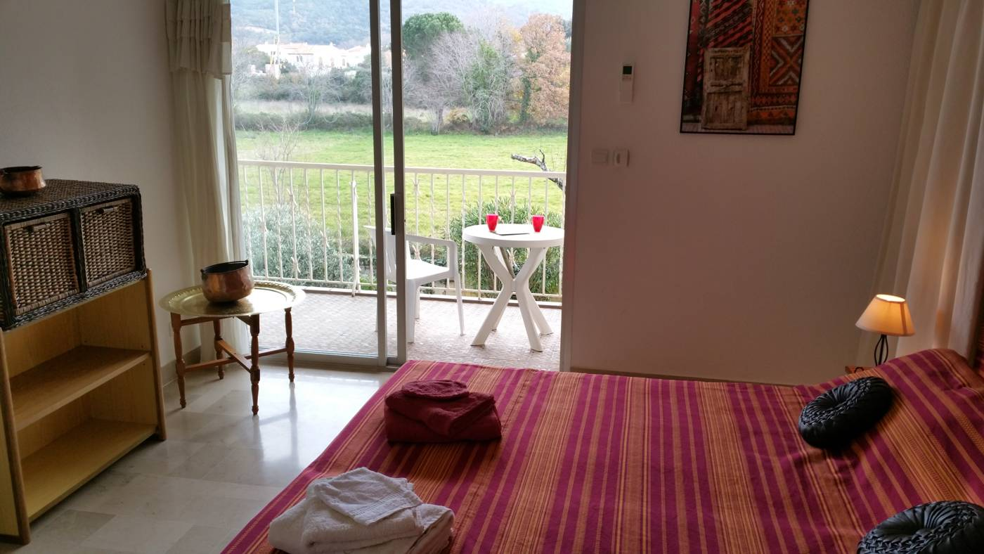 L'ORRY room (Al Pati Bed and Breakfast) near Collioure and Argelès sur mer