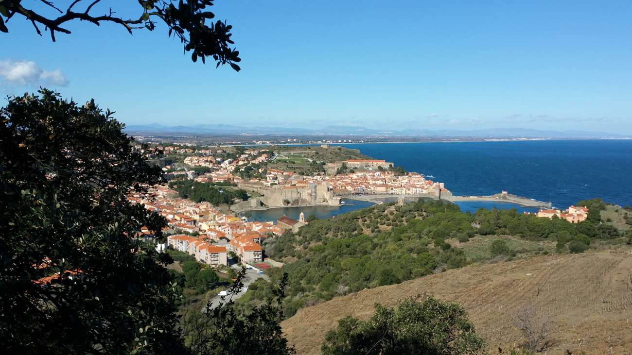 Hiking from Collioure