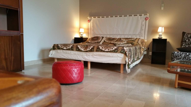 Lit double  (possibilité 2 lits simples) hébergement Ultrera proche Collioure et Argelès sur mer