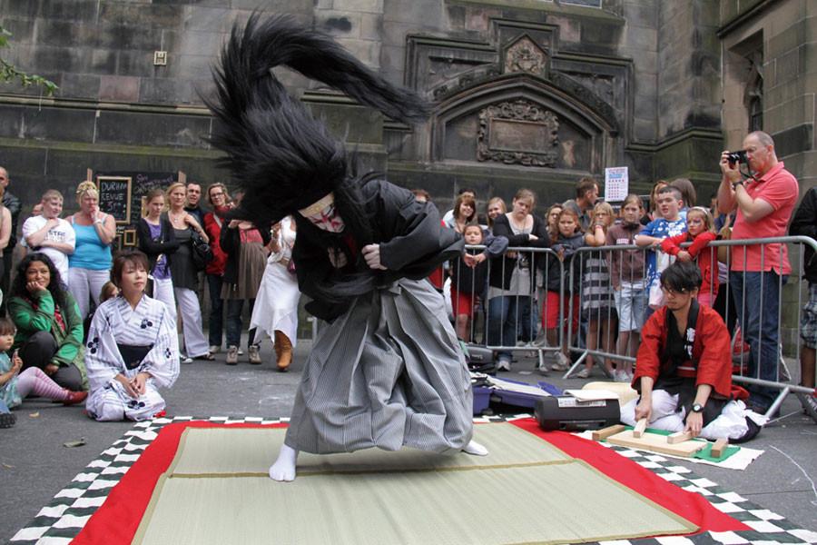 エジンバラ・フェスティバル2010(スコットランド)