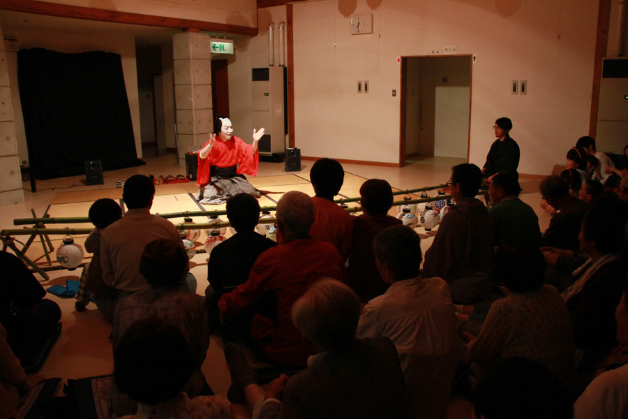 中之条ビエンナーレ2011六合前夜祭(群馬県)