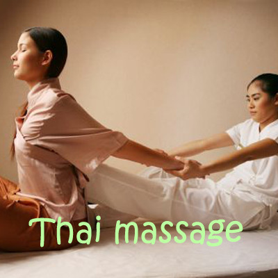 A traditional Thai massage. Once you are used to it, you won't have another massage!